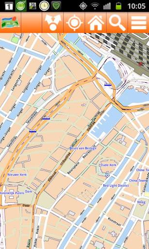 Amsterdam Offline mappa Map