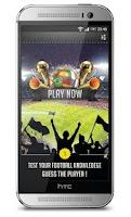 Screenshot of 4 Pics 1 Football Player Quiz