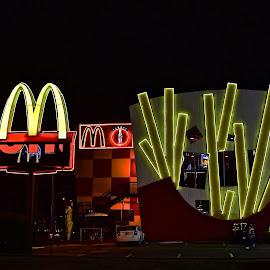 World's Coolest McDonald's by Steven Aicinena - Buildings & Architecture Other Exteriors ( mcdonald's )