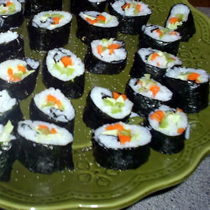 Vegetarian Nori Rolls