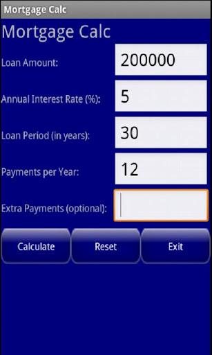 Mortgage Calc