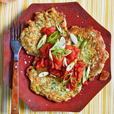 Zucchini Fritter Cakes