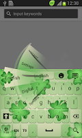 Screenshot of Irish Luck Keyboard