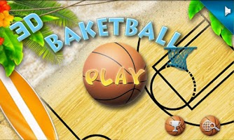 Screenshot of BasketBall 3D