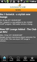 Screenshot of Lounge Club