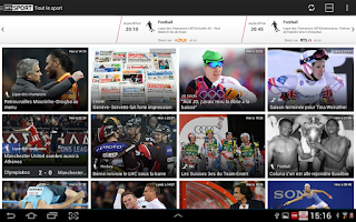 Screenshot of RTSsport