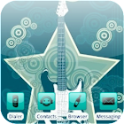 Star Guitar [SQTheme] for ADW icon
