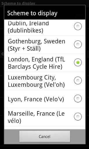 【免費旅遊App】Cycle Hire Widget-APP點子