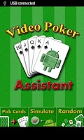 Screenshot of Video Poker Assistant