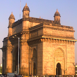 Gateway of India by Amit Bhattacharjee - Instagram & Mobile Other ( gateway, british, side view, architecture, dock )