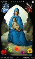 Screenshot of Virgin Mary HD LWP