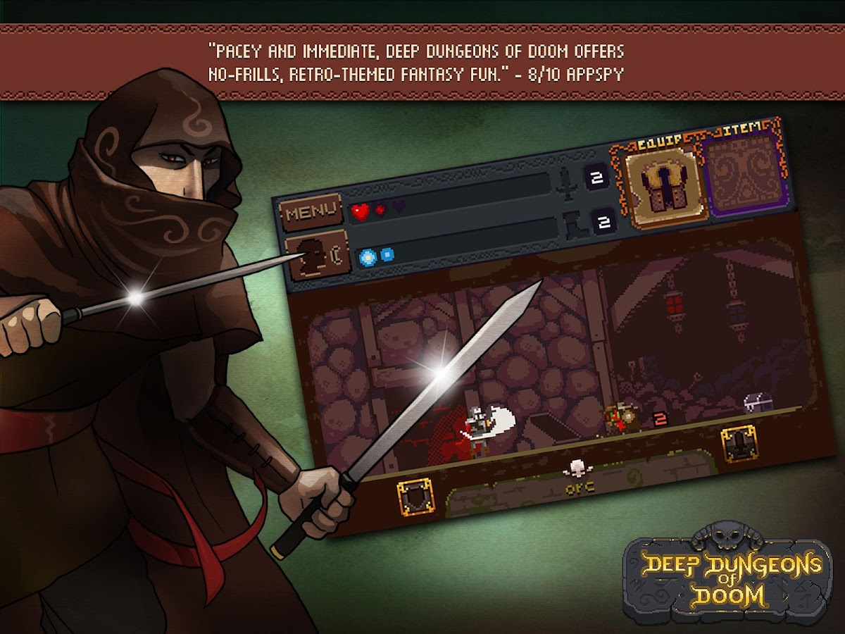 Deep Dungeons of Doom Screenshot 1