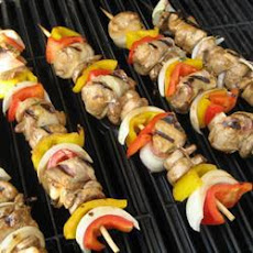Bacon Wrapped Chicken Kebabs