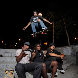 The team by Kelvin Fanas - Sports & Fitness Skateboarding