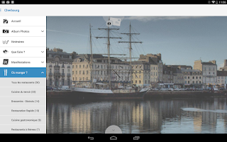 Screenshot of Cherbourg Cotentin Tour