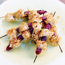 Chip-Crusted Chicken Skewers