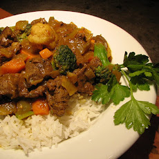 Fragrant Beef Curry with Rice
