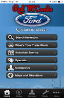 Screenshot of Red McCombs Ford