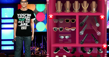 Screenshot of Celebrity Dress Up - Bruno