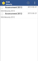 Screenshot of SOA Maturity