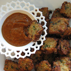 Chive Tater Tots with Green Onion Ketchup