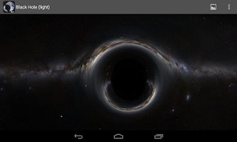 Screenshot of Black Hole (light)
