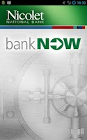 Screenshot of Nicolet Bank bankNow