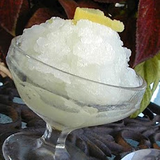 Italian Lemon Ice (Granita)