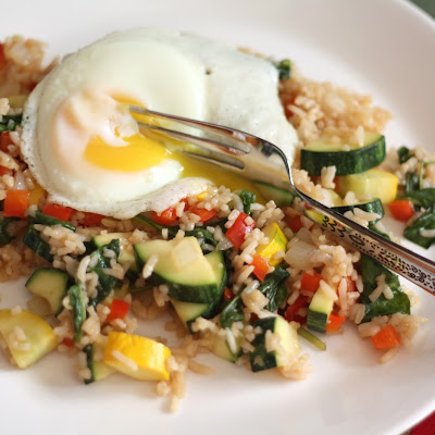 Zucchini Fried Rice