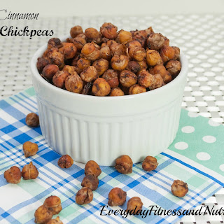 Cinnamon and Maple Roasted Chickpeas