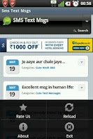 Screenshot of SMS Text Msgs Collection Free