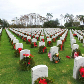 Wreaths for our heros by Michael Sharp - Public Holidays Christmas