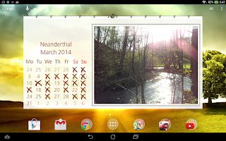 Screenshot of Picture Calendar 2015