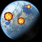 Premium land attack icon