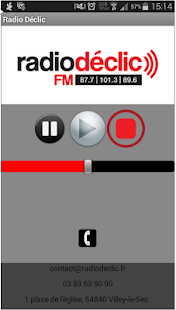 Radio Declic - screenshot