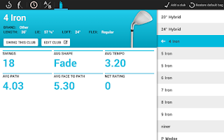 Screenshot of Swingbyte