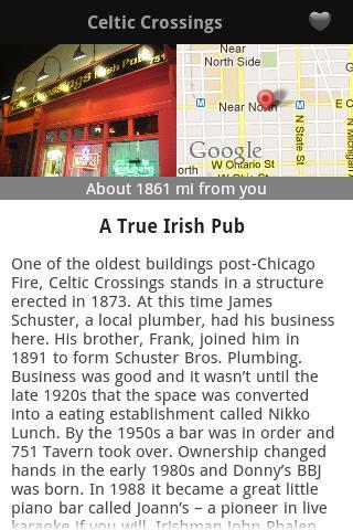 【免費旅遊App】Chicago Taverns & Tales-APP點子