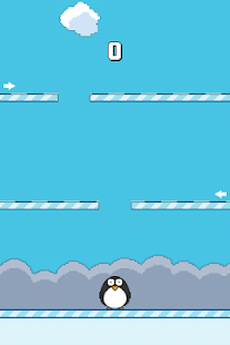 Hyper Pingu - Reach the top - screenshot