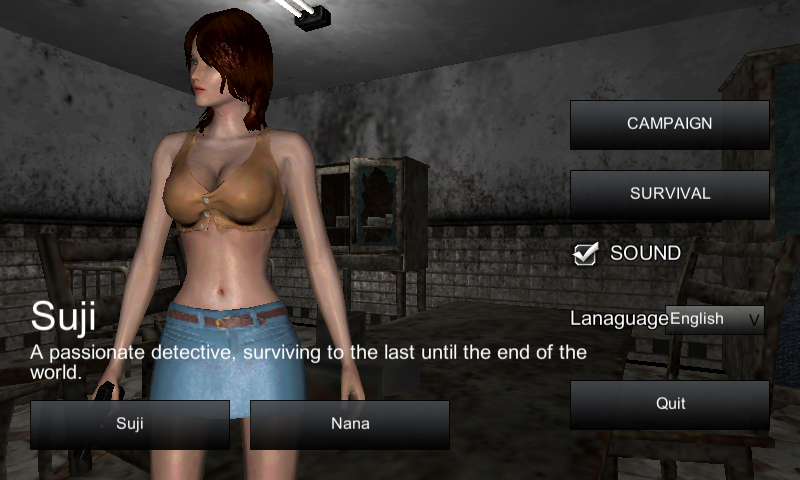 The Girl, Enclosed Zombie APK