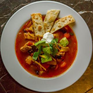 Southwestern Chicken Noodle Soup Recipes