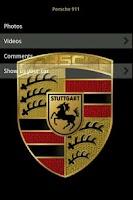 Screenshot of Porsche Encyclopedia
