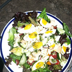 Chef's Salad with Dill Vinaigrette