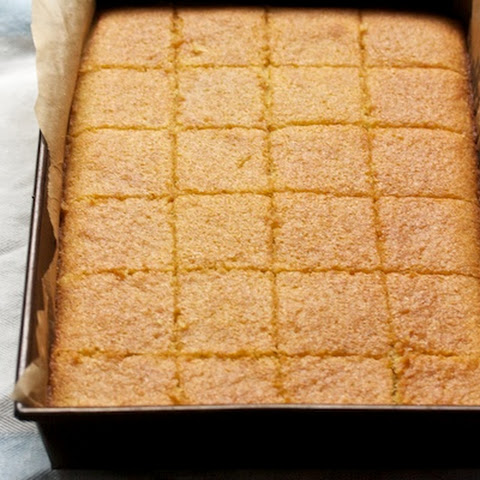 Honey-Drizzled Semolina Cake