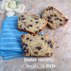 Banana Pineapple Chocolate Chip Bread
