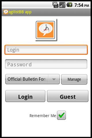 agilistBB app