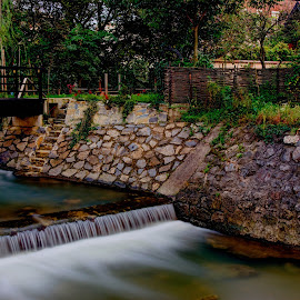 Samobor by Lasbi Naboj - City,  Street & Park  City Parks ( dawn, waterscape, samobor, landscape, river )