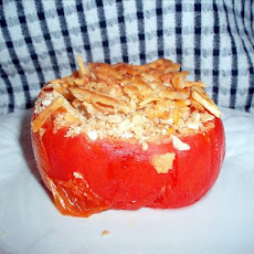 Toe and Don's Cheese & Cracker Stuffed Tomatoes
