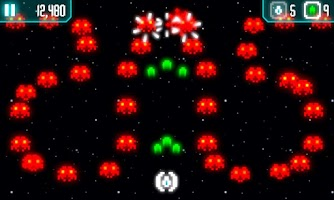 Screenshot of Cosmos vs Invaders (Lite)