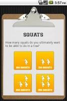 Screenshot of Squats
