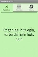 Screenshot of Esaera Zaharrak